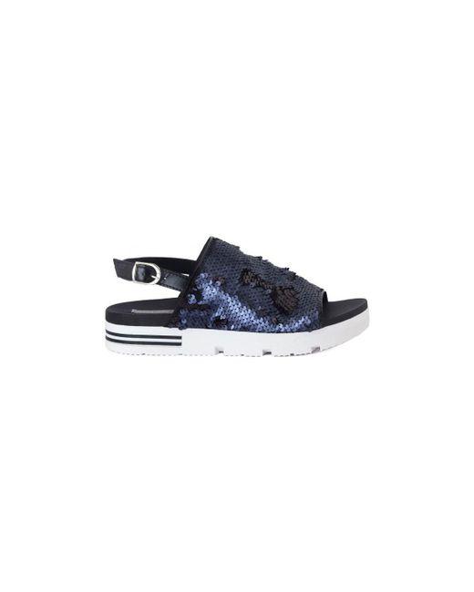 Tosca Blu | Sabot Blu Zeppa Women's Sandals In Blue | Lyst