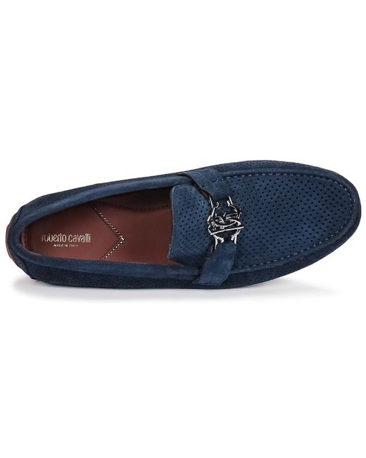 4c3a2ebf85f ... Lyst Roberto Cavalli - 4217 Men s Loafers   Casual Shoes In Blue for Men  ...