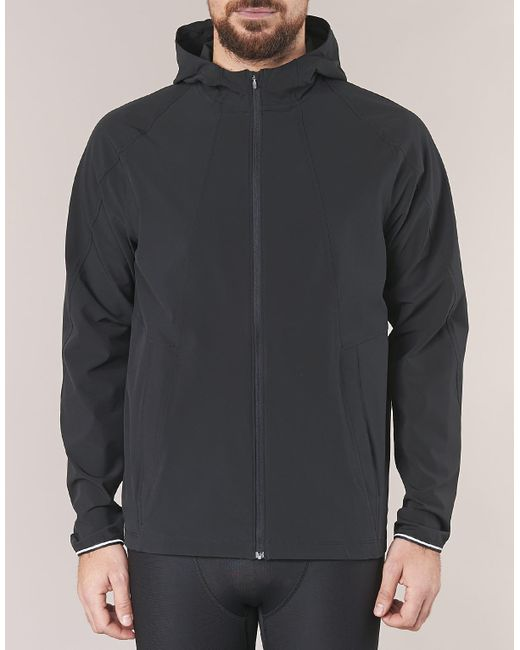 Under Armour Outrun The Storm Jacket Jacket In Black For Men Lyst