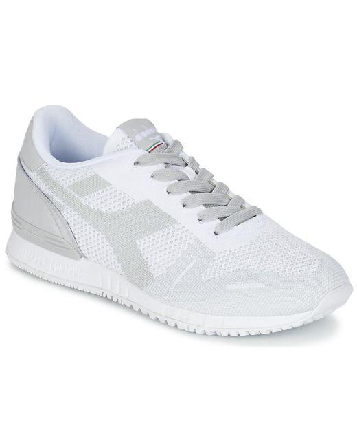 Diadora - Gray Titan Weave Men's Shoes (trainers) In Grey for Men - Lyst