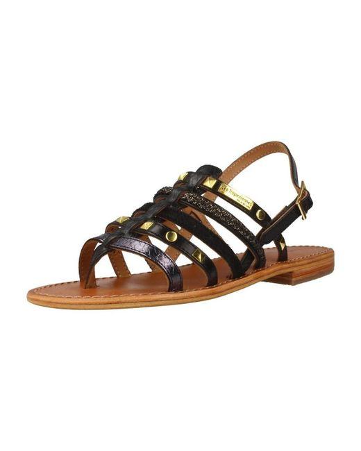Les Tropéziennes Par M Belarbi - C11566herclou Women's Sandals In Black - Lyst