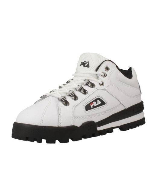 220238e76c7 Fila Trailblazer L Women's Shoes (trainers) In White in White - Lyst