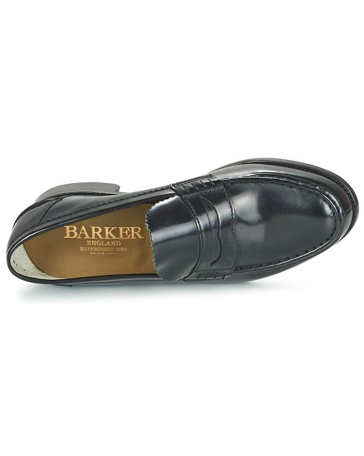 04cb645e41c Barker Caruso Men s Loafers   Casual Shoes In Black in Black for Men ...