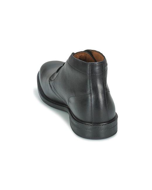 0fc141d7bb42 Clarks Chilver Hi Gtx Men s Mid Boots In Black in Black for Men ...
