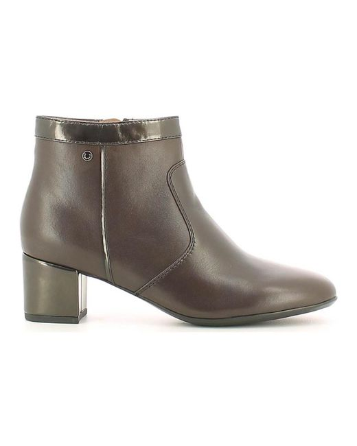 Stonefly   107061 Ankle Boots Women Dark Brown Women's Mid Boots In Brown   Lyst