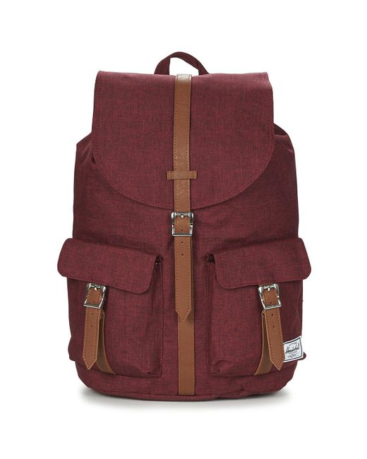Herschel Supply Co. - Dawson Men s Backpack In Red for Men - Lyst ... 73dfe9e67b138