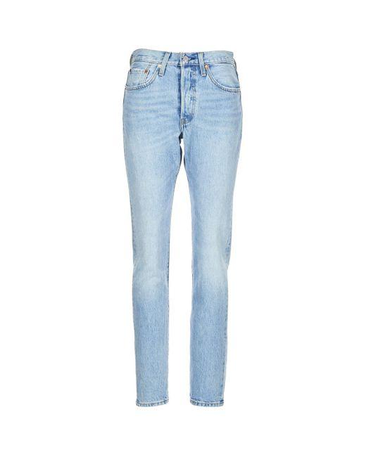 501® SKINNY femmes Jeans skinny en bleu Levi's en coloris Blue