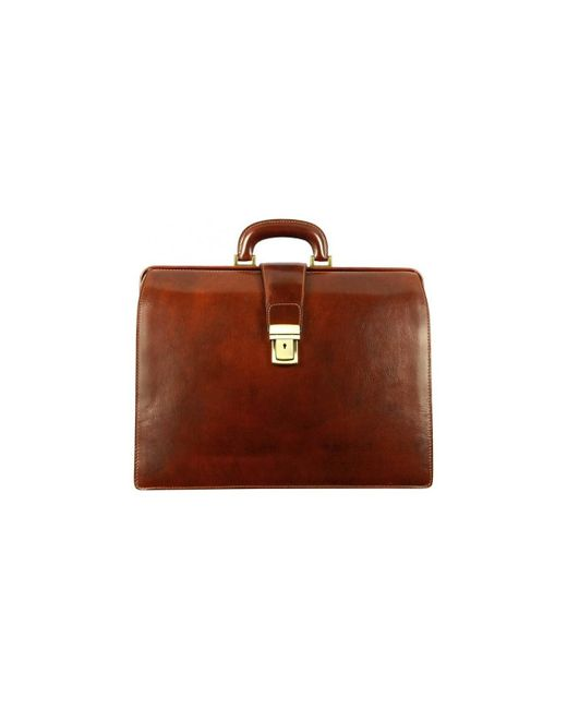 Time Resistance - The Firm Men's Briefcase In Brown for Men - Lyst