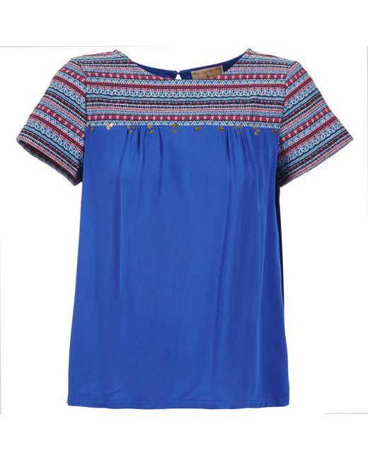 Moony Mood - Eileen Women's Blouse In Blue - Lyst