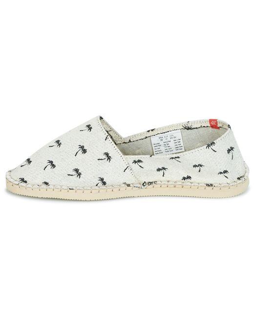 0837cecbc ... Havaianas - Natural Origine Print Beach Men s Espadrilles   Casual  Shoes In Beige for Men ...