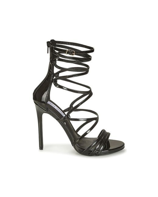 ecab09b6c8f Steve Madden Flaunt Women s Sandals In Black in Black - Lyst