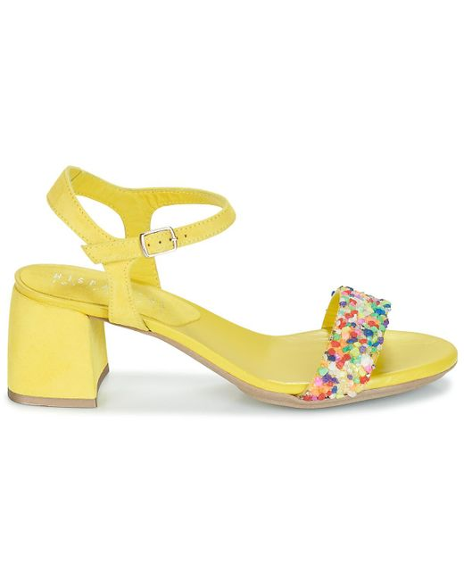 e52fe23348bb21 Hispanitas Nerea Women's Sandals In Yellow in Yellow - Save 1% - Lyst