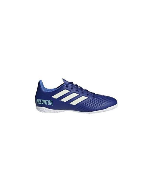 fb2bca355 ... shop adidas predator tango 184 in mens football boots in blue for men  lyst 3ab6d bcd1b