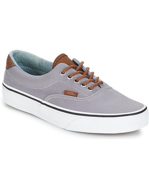 c67c8a9bbd Vans - Gray Era 59 Men s Shoes (trainers) In Grey for Men - Lyst ...