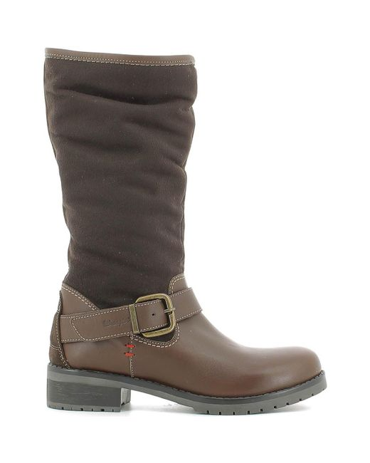 Wrangler | Wl162542 Boots Women Dark Brown Women's High Boots In Brown | Lyst