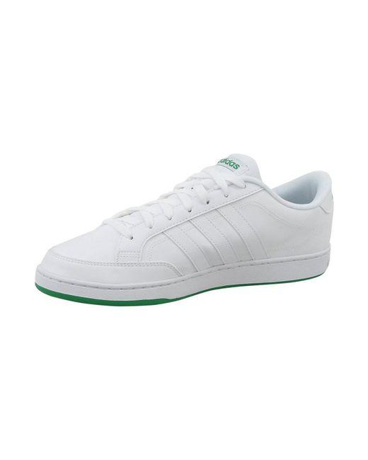 Adidas courtset scarpe da uomo (formatori) in bianco in bianco per gli uomini lyst