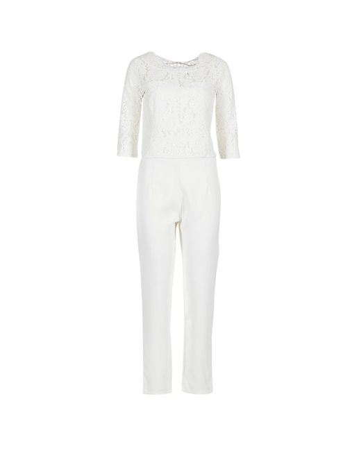 Betty London - Isaidyes Women's Jumpsuit In White - Lyst