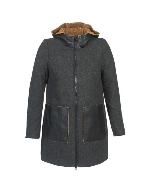 Vero Moda - Gray Empire Women's Coat In Grey - Lyst