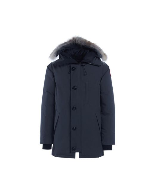 Canada Goose - Gray Chateau Grey Parka Men's In Grey for Men - Lyst