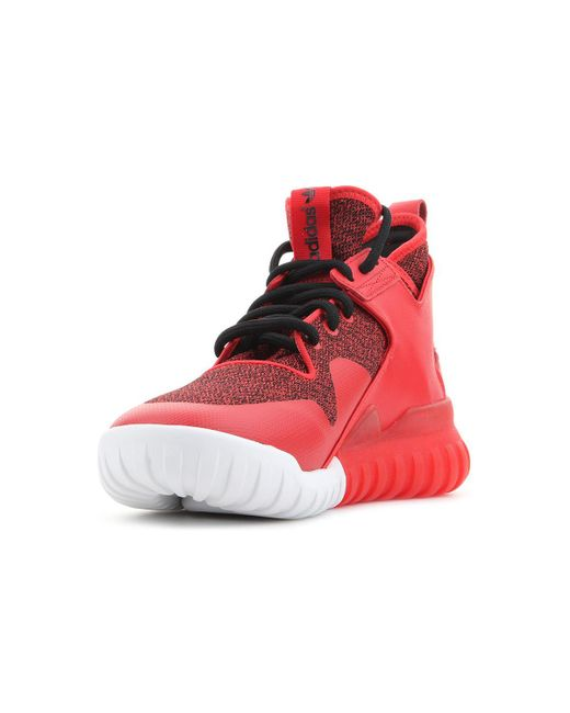 new photos ad10a 99b08 Tubular Homme X En Pour Rouge Chaussures Hommes Adidas Lyst S74929 ATdwxAp1