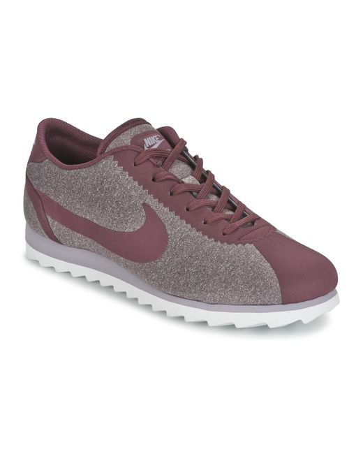 Nike   Cortez Ultra Se W Women's Shoes (trainers) In Red   Lyst