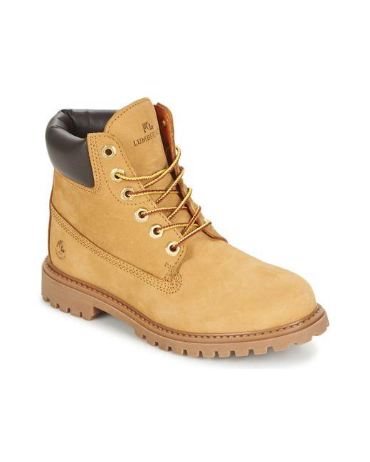 Lumberjack | River Women's Mid Boots In Brown | Lyst