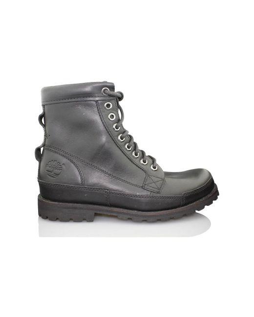 And Men Hommes Men's Mid Boots In Black