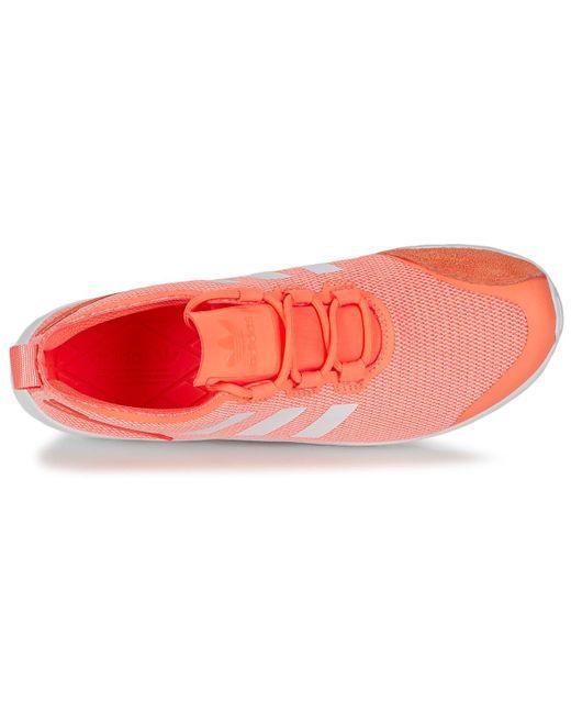 meet 7a719 604ce ... Adidas - ZX FLUX ADV VERVE W femmes Chaussures en orange - Lyst ...