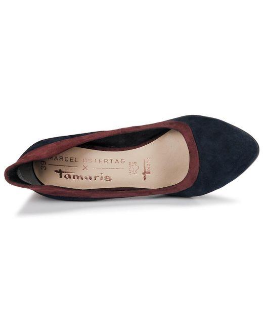 modischer Stil noch eine Chance besserer Preis für Tuna Women's Court Shoes In Blue