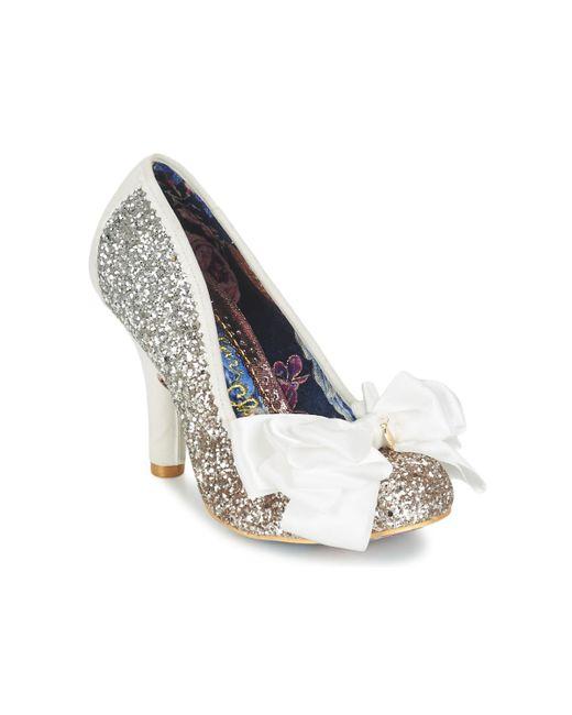 5c0dd422d8f22 Irregular Choice Ascot Women s Court Shoes In Silver in Metallic - Lyst