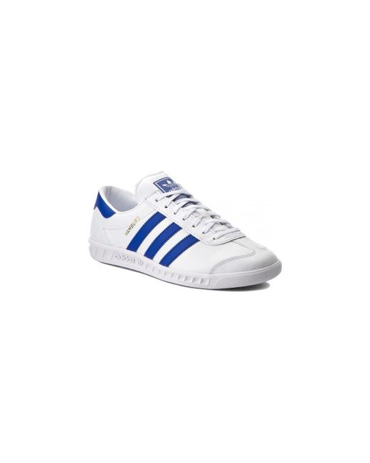 Adidas | Hamburg By9758 Men's Shoes (trainers) In White for Men | Lyst