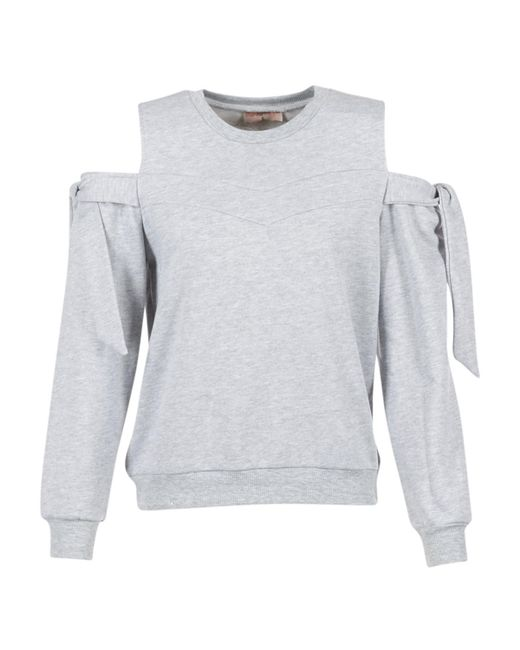 Moony Mood - Gray Harmu Women's Sweatshirt In Grey - Lyst