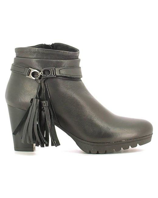 Keys | 1145 Ankle Boots Women Black Women's Mid Boots In Black | Lyst