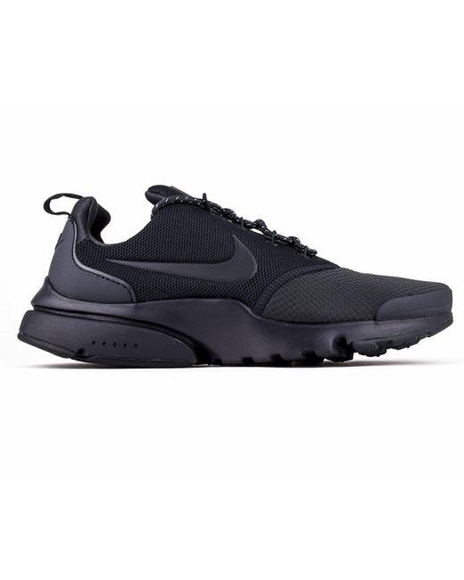 Nike - Gray Presto Fly Se Trainers Dark Grey for Men - Lyst ... 169a82ff2
