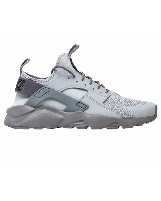 9f1295debc8b Nike Air Huarache Run Ultra Trainers Grey in Gray for Men - Save 43 ...