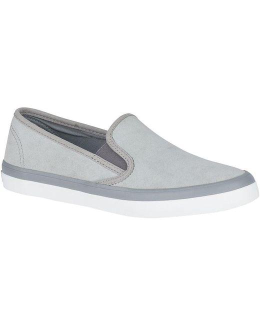Sperry Top-Sider - Gray Women's Angelfish Boat Shoe - Lyst