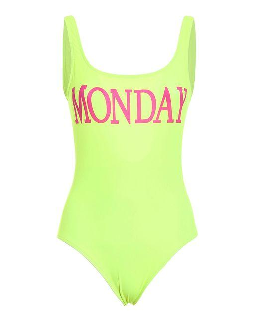 Alberta Ferretti - Green Rainbow Week Swimsuit - Lyst