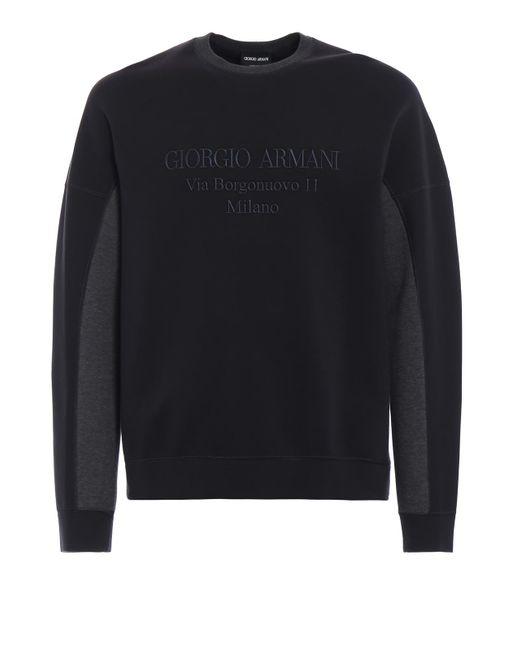Giorgio Armani - Black Jumper for Men - Lyst