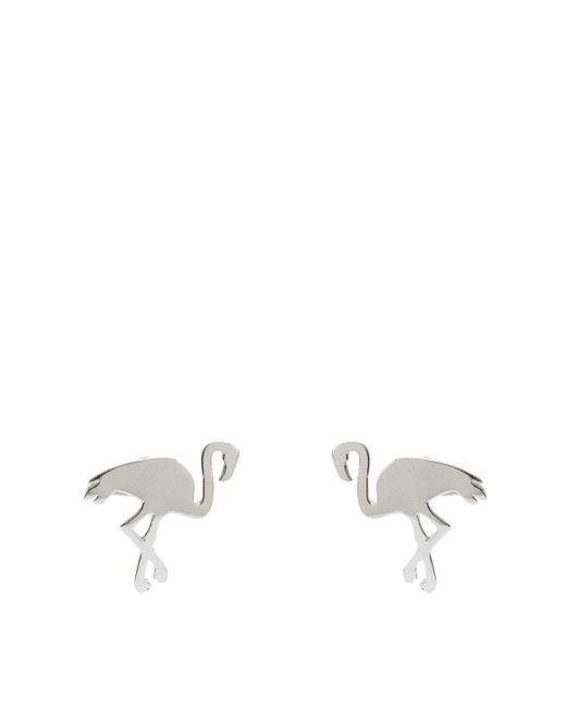 Splendid | Metallic Gorjana Flamingo Stud Earrings | Lyst