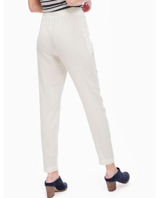 Splendid | Natural Double Cloth Pant | Lyst