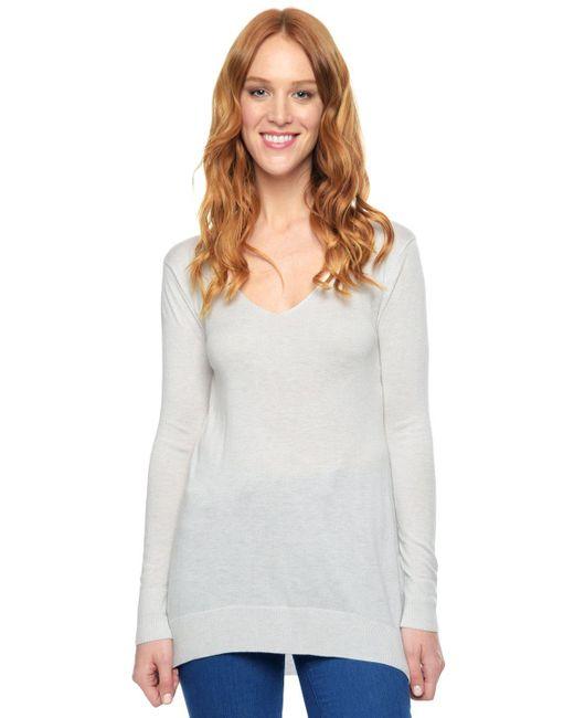 Splendid   White Cashmere Blend Pullover   Lyst