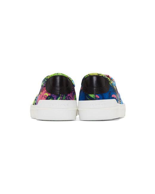 Versace Multicolor Medusa Sneakers 7fgxFDcyaB