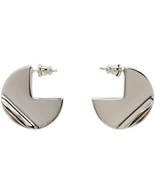 Givenchy | Metallic Gold G-ometric Round Earrings | Lyst