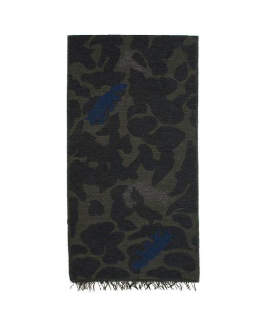 PS by Paul Smith - Blue Foulard bleu marine Fennex Fox for Men - Lyst
