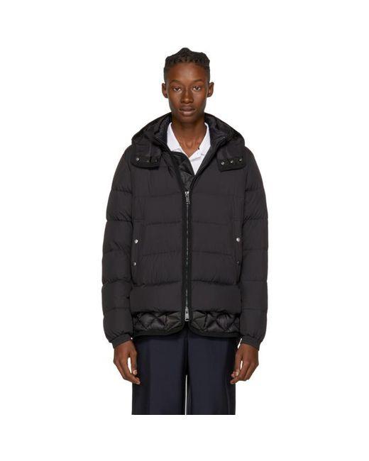 Moncler   Black Down Tanguy Jacket for Men   Lyst