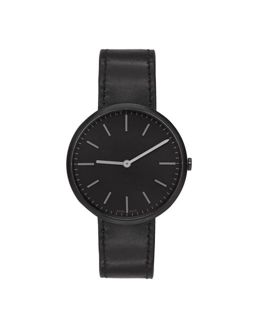 Uniform Wares - Gunmetal And Black Leather M37 Two-hand Watch for Men - Lyst