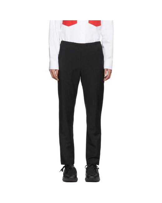 Acne - Black Ari Trousers for Men - Lyst