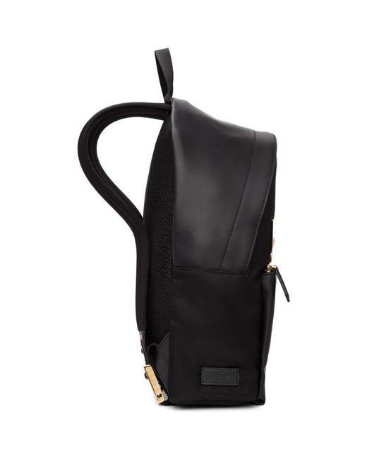 ... Fendi - Black And Gold Bag Bugs Backpack for Men - Lyst ... 978c02d5c06bf
