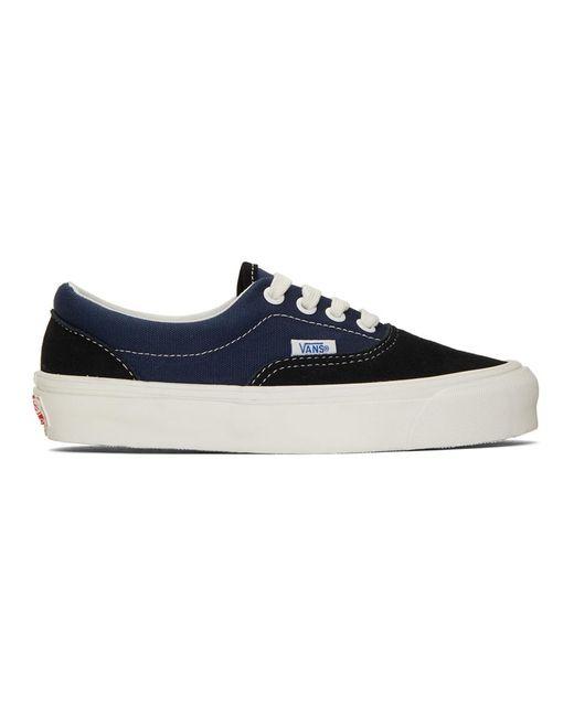 91c96a3f3e4 Vans - Black And Blue Og Era Lx Sneakers for Men - Lyst ...