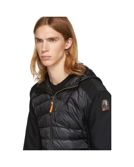 ... Parajumpers - Black Warm-up Nolan Jacket for Men - Lyst